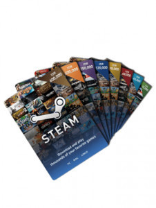 Steam Wallet Code - US$40