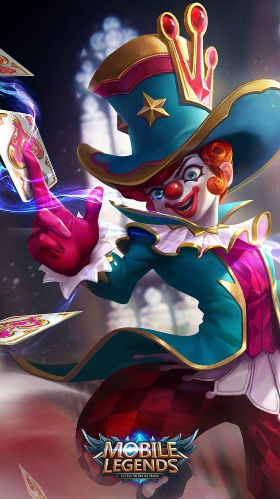 Naughty Joker (Skin Harley)