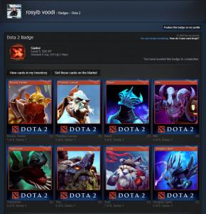 Steam Trading card - Dota 2