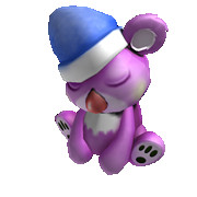 Purple Sleepy Koala