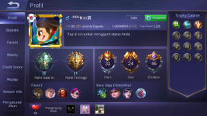 Akun Mobile Legends Sultan Calon Top Global Akai