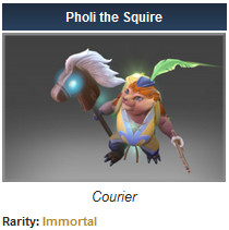 Pholi the Squire (Courier)