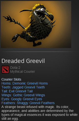 Dreaded Greevil (Courier)