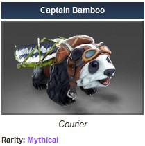 Captain Bamboo   ( courier )