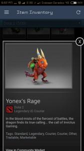 Yonex's Rage
