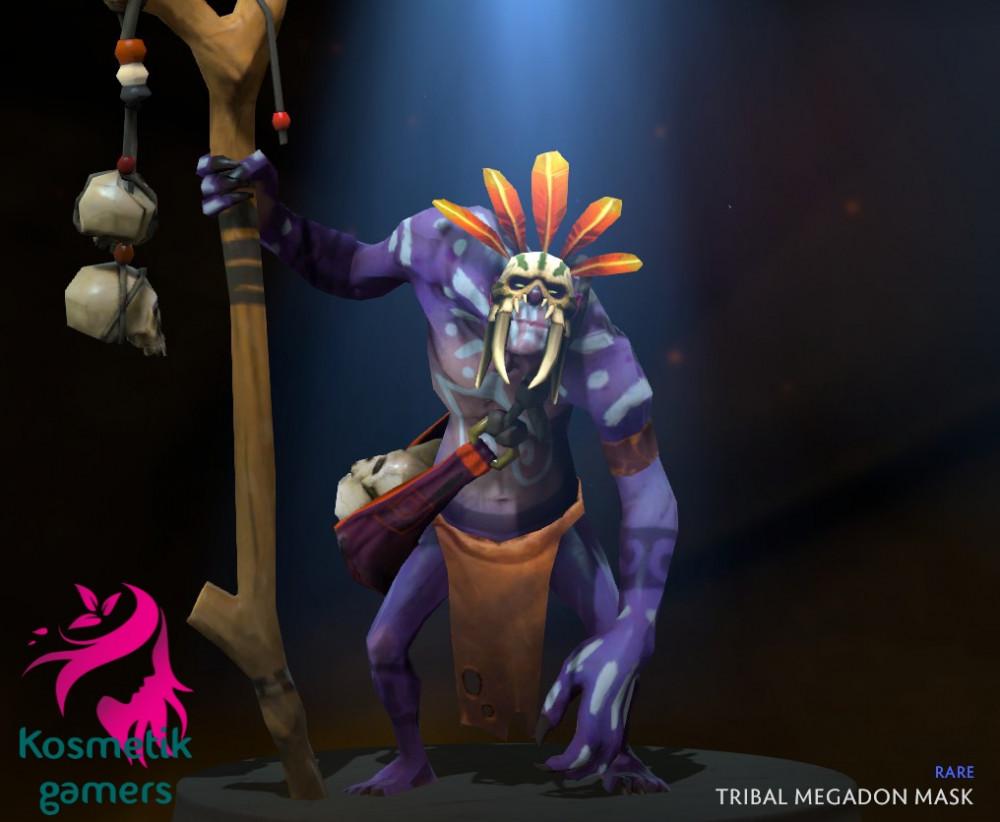 Tribal Megadon Mask (Witch Doctor)