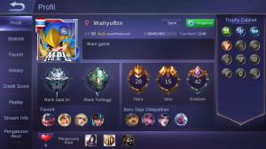 Akun Skin Elite Miya | Hero 28 Skin 15 | -All unbi