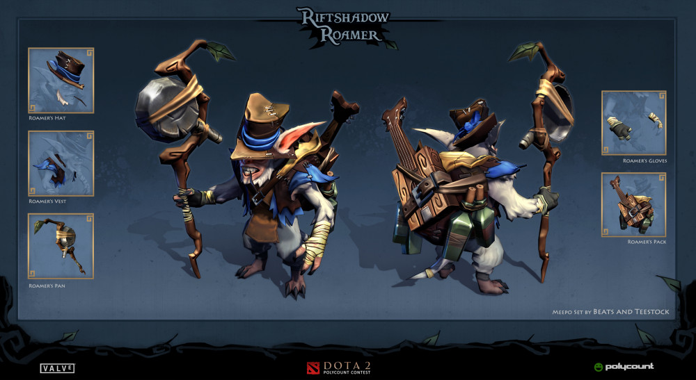 The Riftshadow Roamer's (Meepo Set)