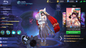 Cannon and Roses (Special Skin Layla) Android/IOS