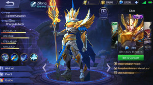 Glorious General (Epic Skin Zilong) Android/IOS