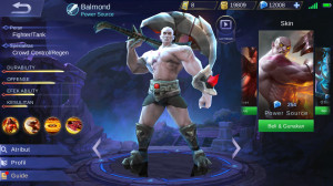 Power Source (Skin Balmond) Android/IOS