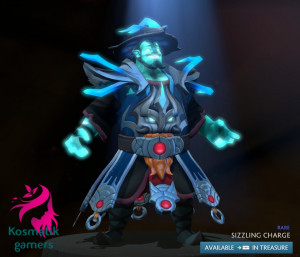 Sizzling Charge (Storm Spirit Set)