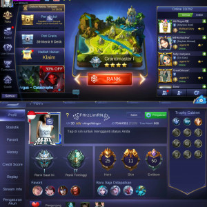 Skin Special Lance, Epic Irithel, SL Alucard, Dll