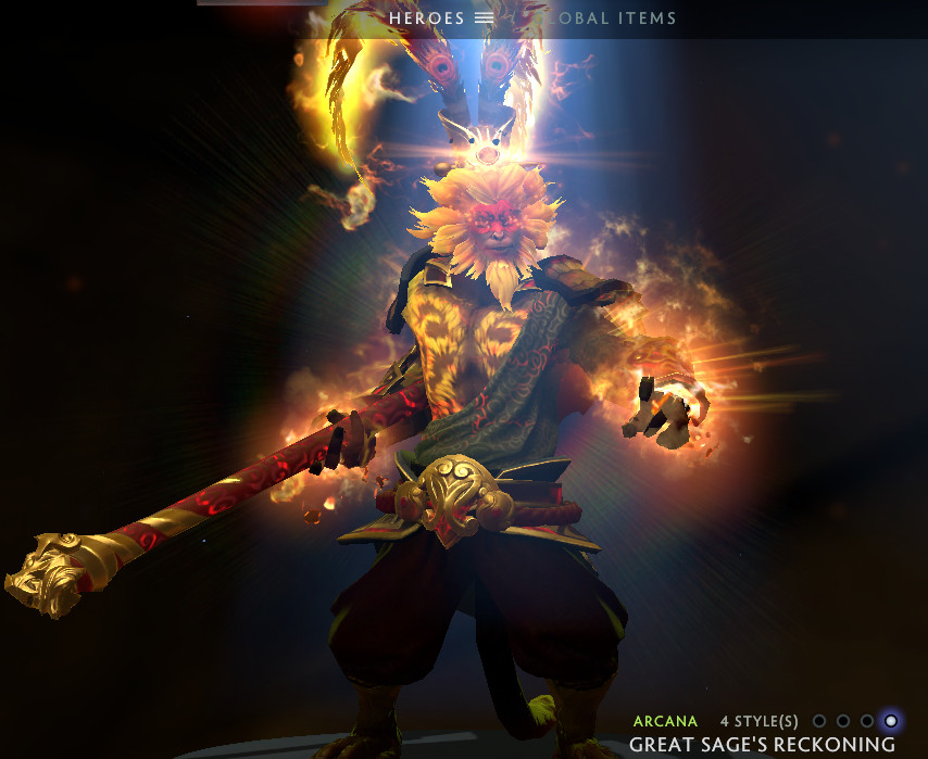 Great Sage's Reckoning (Arcana Monkey King)