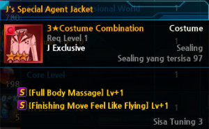 J's Special Agent Jacket