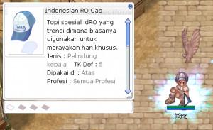 Indonesian RO Cap