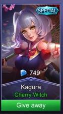 Cherry Witch (Special Skin Kagura)