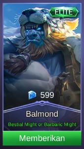 Savage Hunter (Elite Skin Balmond)