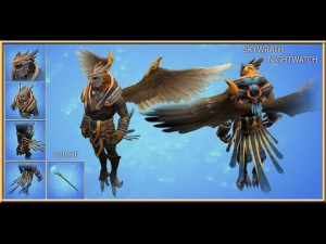 The Nightwatcher's (Skywrath Mage Set)
