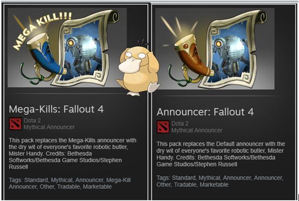 Fallout 4 Announcer Pack (Announcer + Mega Kill)