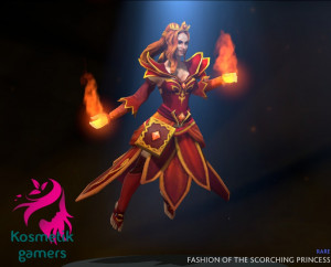 Fashion of the Scorching Princess (Lina Set)