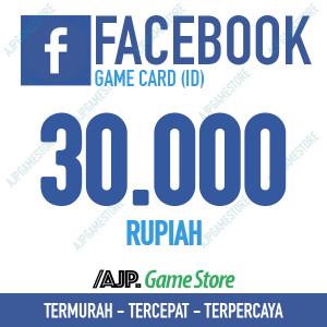 Facebook Game Card IDR 30.000
