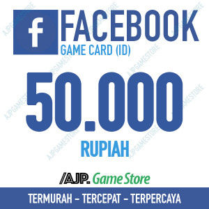 Facebook Game Card IDR 50.000