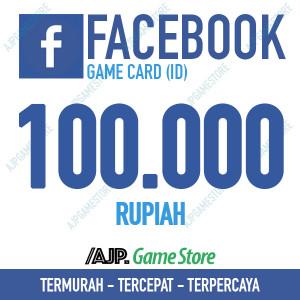 Facebook Game Card IDR 100.000