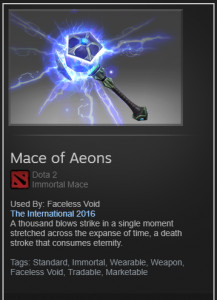 Mace of Aeons (Immortal Faceless Void)
