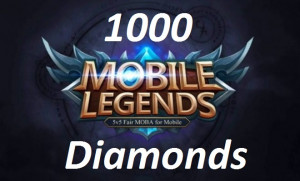 Top Up 1000 Diamonds