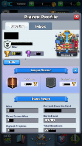 High Level, Complete Cards, Clan Lokal Rank Tinggi