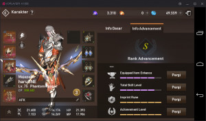 Akun lineage2 job Phantom Ranger server majapahit