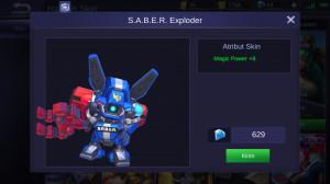 S.A.B.E.R Exploder (Epic Skin Cyclops)