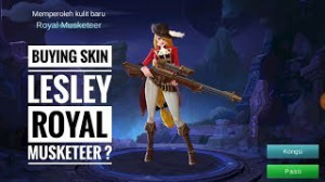 Royal Musketeer (Skin Lesley)