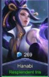 Resplendent Iris (Skin Hanabi)