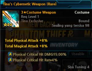 Tina's Cybernetic Weapon [Rare]