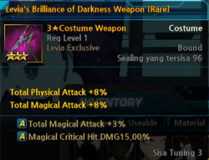 Levia's Brilliance of Darkness Weapon [Rare]