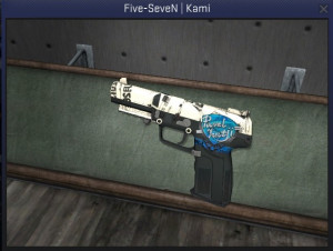 Five-SeveN | Kami + Team Sticker