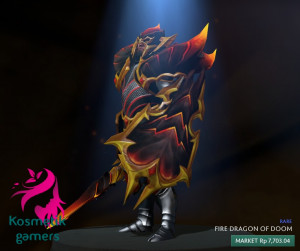 Fire Dragon of Doom (Dragon Knight Set)