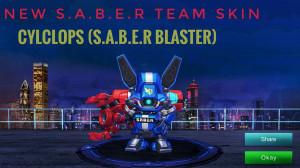 SABER Exploder (Epic Skin Cyclops)