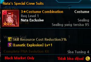 Nata's Special Crew Suit