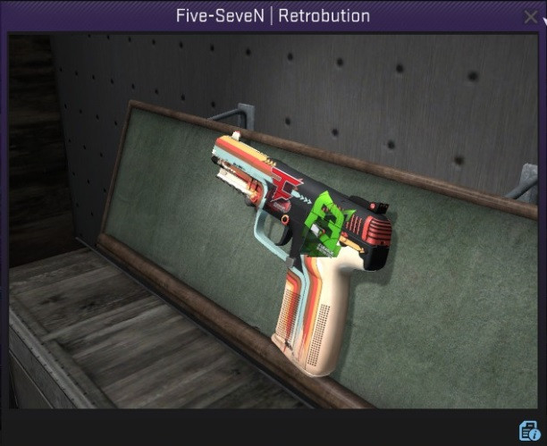 Five-SeveN | Retrobution + Sticker