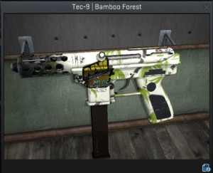 Tec-9 | Bamboo Forest + HOLO Sticker