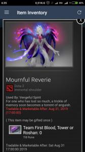 Mournful Reverie (Immortal TI8 Venge)