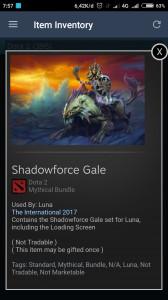 Shadowforce Gale (Mythical Bundle Luna)