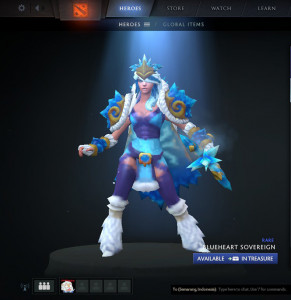 Blueheart Sovereign (Crystal Maiden Set)