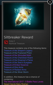 Siltbreaker Reward (Treasure)