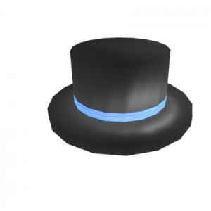 Blue Banded Top Hat