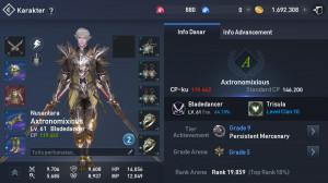 Bladedancer Lvl 61 MURMER