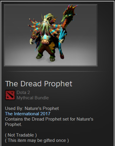 The Dread Prophet (Nature's Prophet Set)
